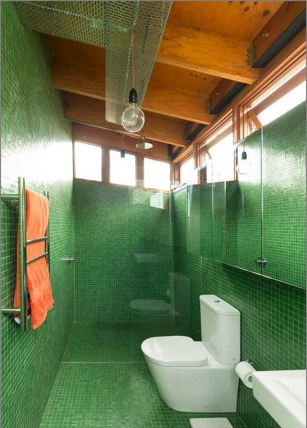 Loft стил Баня