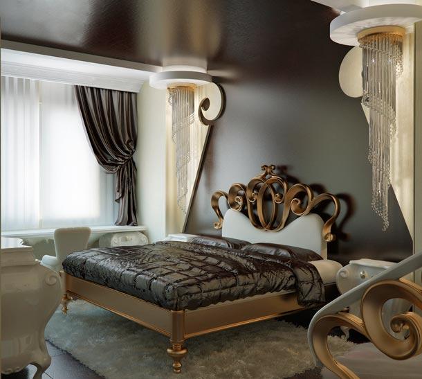 Exquisite interior design art deco