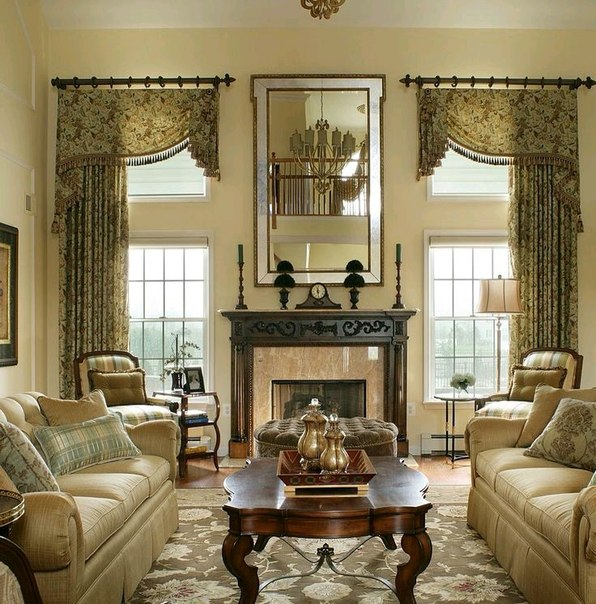 English style in interior