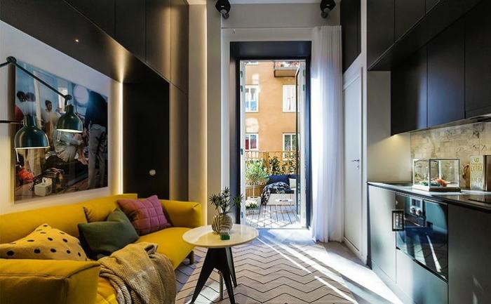 20 квадратни метра. м за комфортен живот: един красив интериор малък апартамент
