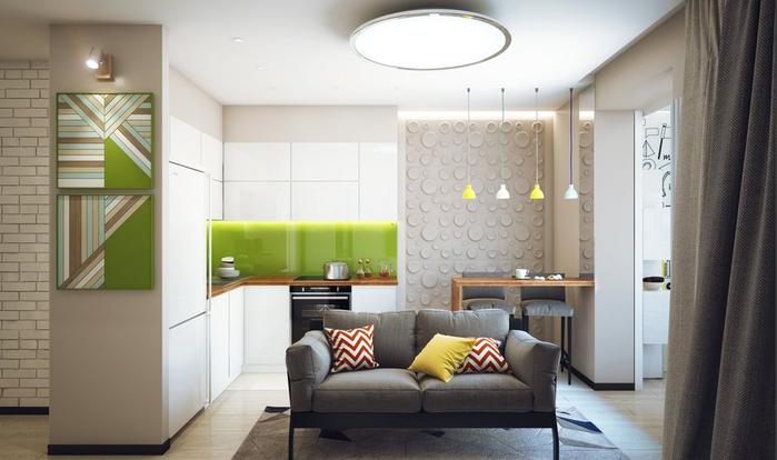 Цветовата схема за малки апартаменти. Идеите на цветови комбинации за малки апартаменти (снимка)