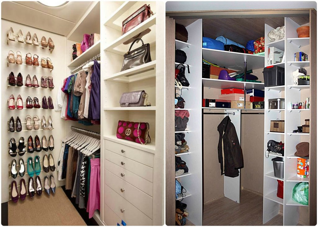 Where to find a place in the dressing room in a small - Dressing room small space ...