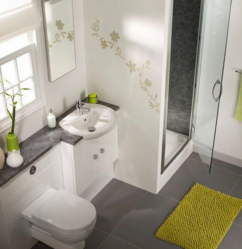 Ideas for a small bathroom