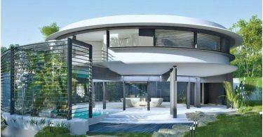 dom-ulitka-koncept-osobnjaka-s-zelenymi