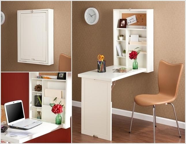 Сгъваеми маси и други сгъваеми мебели, като решение за малки апартаменти