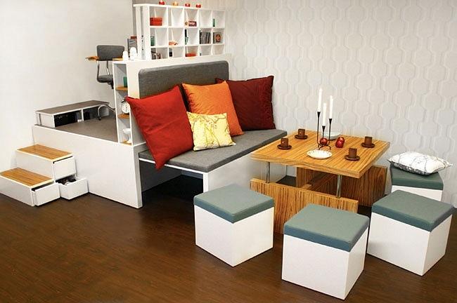 5 компактни принципи: Решения за поставяне на мебели в малки апартаменти