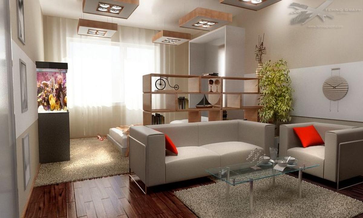 Дизайн однокомнатной квартиры идеи