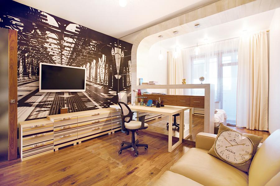 Малък апартамент: най-добрите идеи интериор студиото