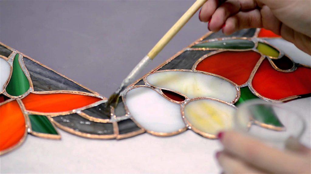 Използването на стъклопис в интериора