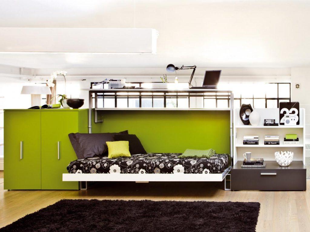 Мебели за малки апартаменти, конвертируеми мебели в проектирането на малки апартаменти (снимка)