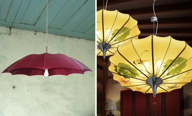 Декор чадъри у дома
