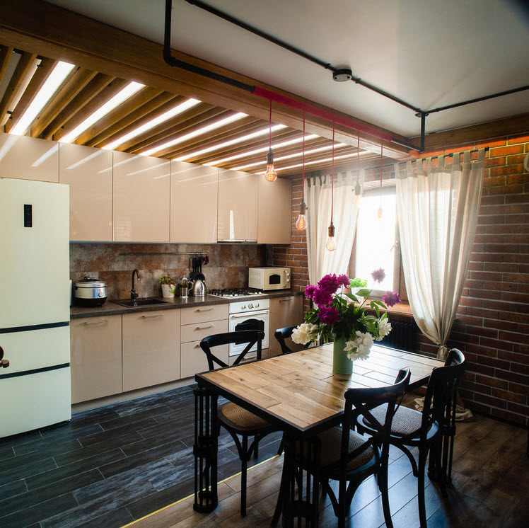 Стил Loft апартамент например