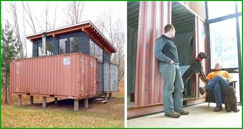Container house of Holyoke