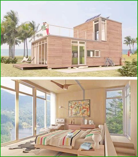House of cargo containers - photo 4