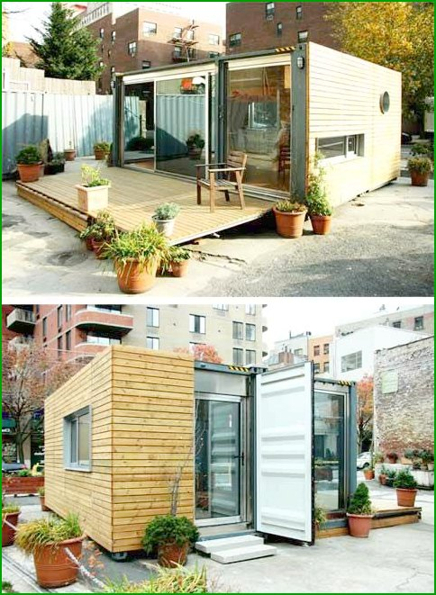 House of cargo containers - photo 6