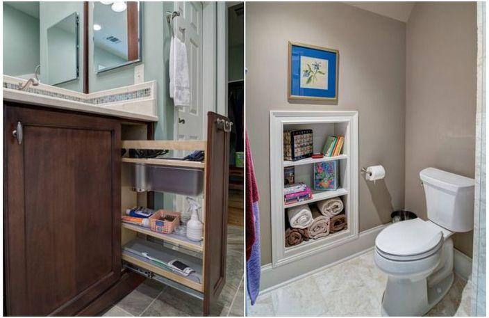 10 страхотни идеи за банята, които ще направят по-малко пространство, по-добре