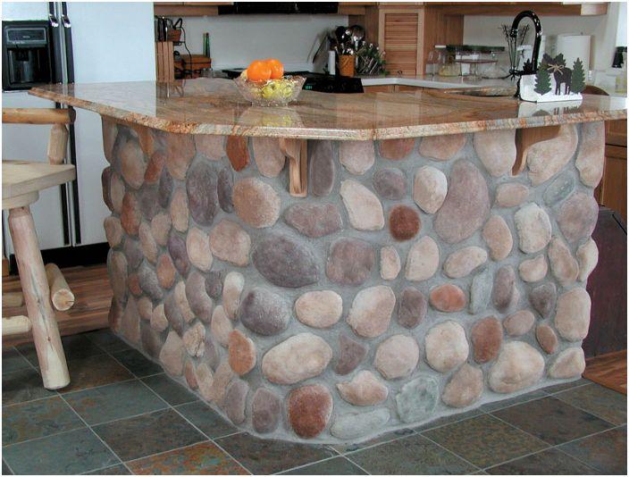 17 idee fredde utilizzo di pietre nella progettazione della casa e ...