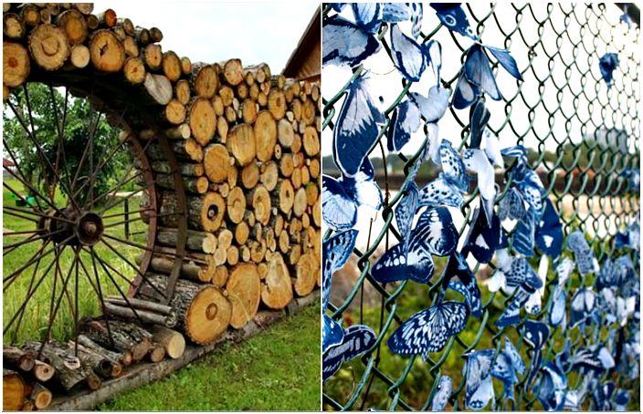 أمثلة الأسوار رائعة، والتي سوف يكون جوهره الحقيقي من منزل ريفي أو حديقة.