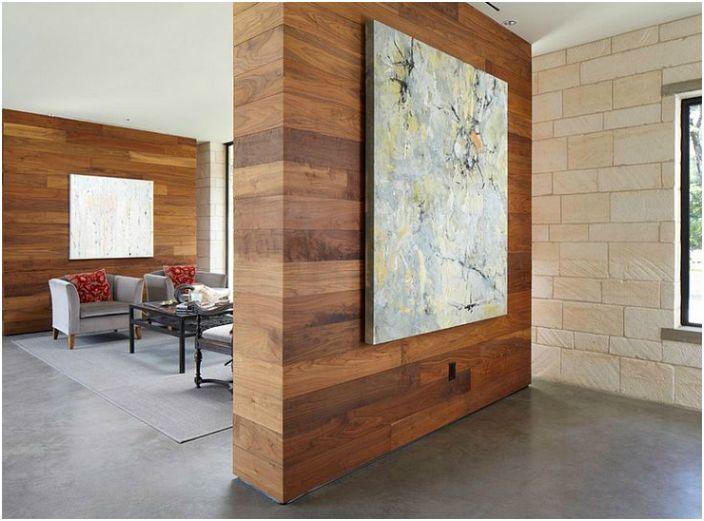 17 луксозни преградни стени, които ще помогнат зонирана пространство и трансформиране на интериора