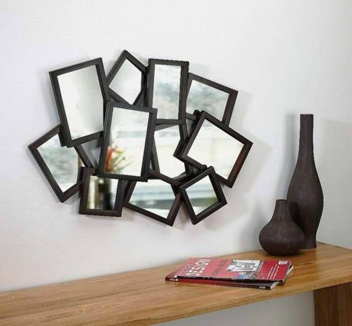 Декор настенных зеркал своими руками 31