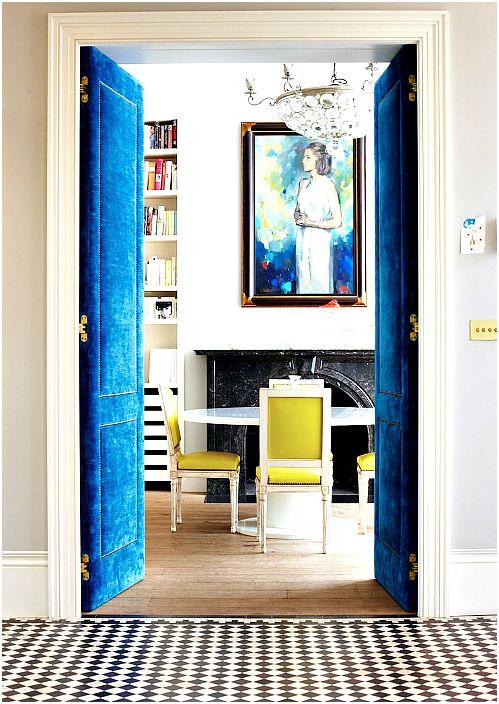 18 оригинални примери за интериорни врати, които ще допълнят перфектната стилен интериор