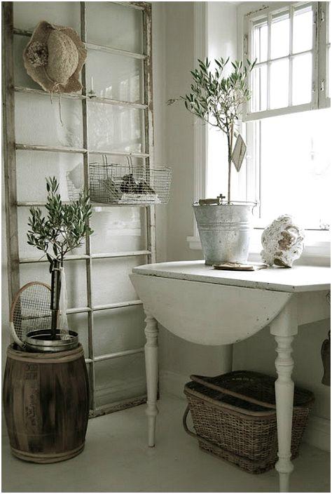18 страхотни примери за нестандартно използване на старите прозорци, щори и дограма