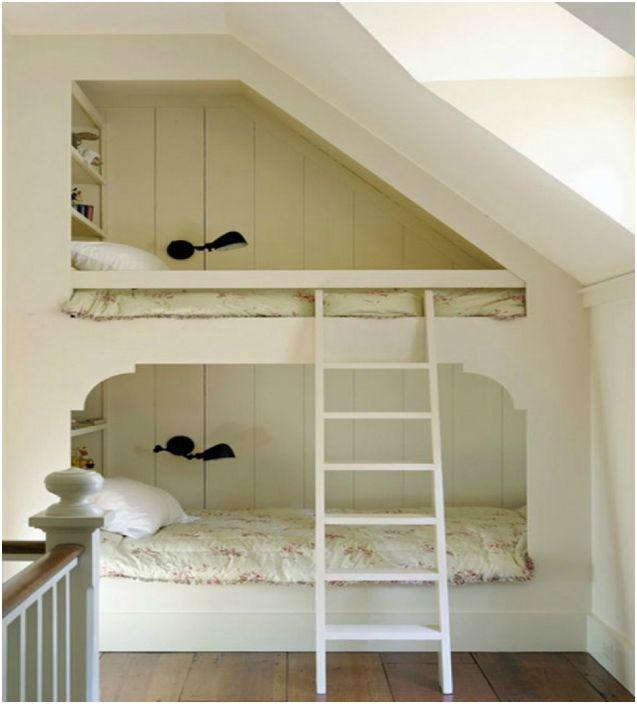 19 gode senger og soverom for større familier og små områder ...