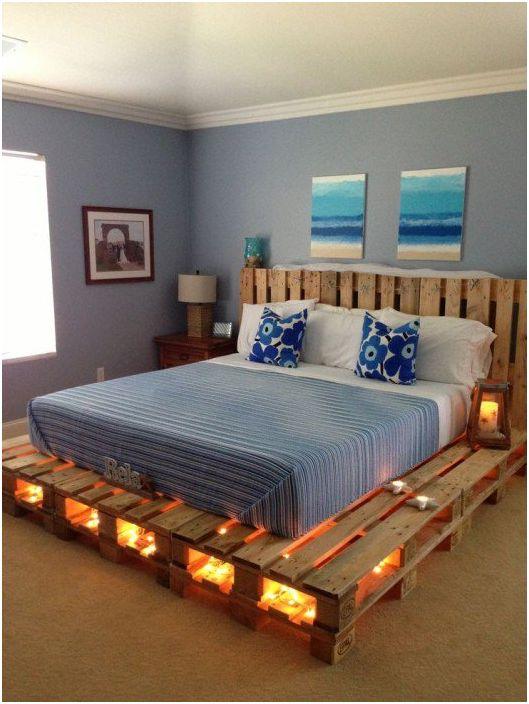 20 очарователни примери за бюджет мебели и декор елементи от палети