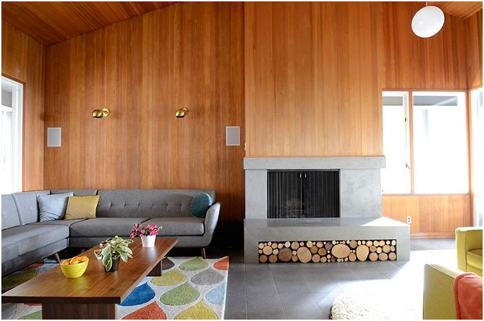 20 невероятно и чудесен начин за съхраняване на дърва в хола