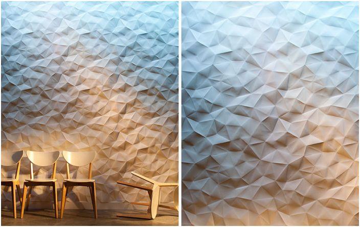 25 проби от 3D плочки, които акцентират на текстурата и дълбочината на стаи