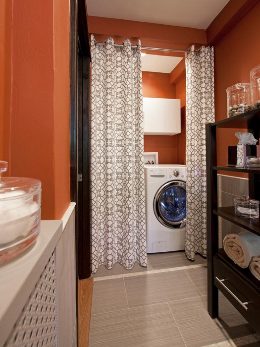 25 laundry spaces that skillfully hidden from prying eyes ...