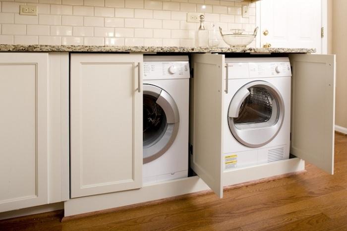 Skåp för tvättmaskin