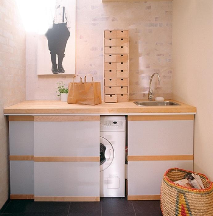 25 posti di lavanderia che abilmente nascosti da occhi ...