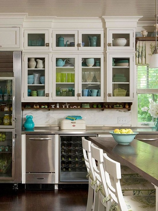 Comfortable And Spacious Closets Are Ideal For Any Kitchen Decor And Create  In It A Great Part 46