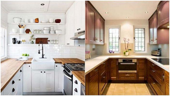 b06011cf0ab V tvare písmena U kuchyne - perfektné riešenie pre usporiadanie priestoru v  kuchyni.