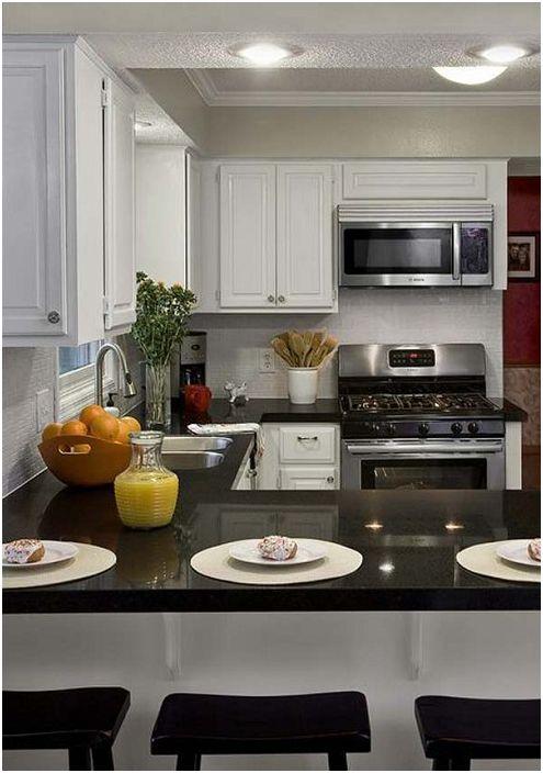 28 primjera u obliku slova U kuhinji  dizainall.com