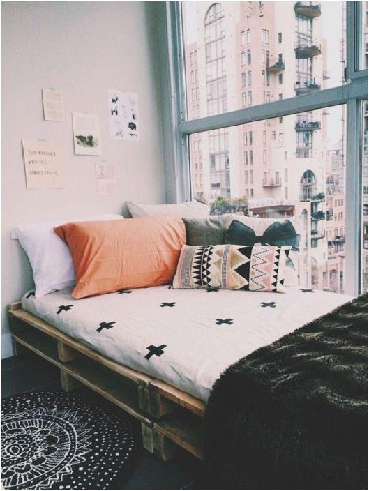 33 Pomysłów Na Stworzenie łóżka Z Palet Które Oczaruje Na