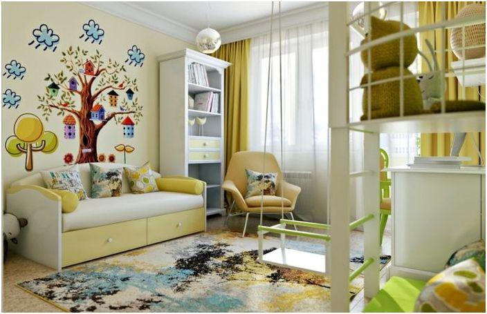 5 идеи за стаята на детето, който като всеки възрастен