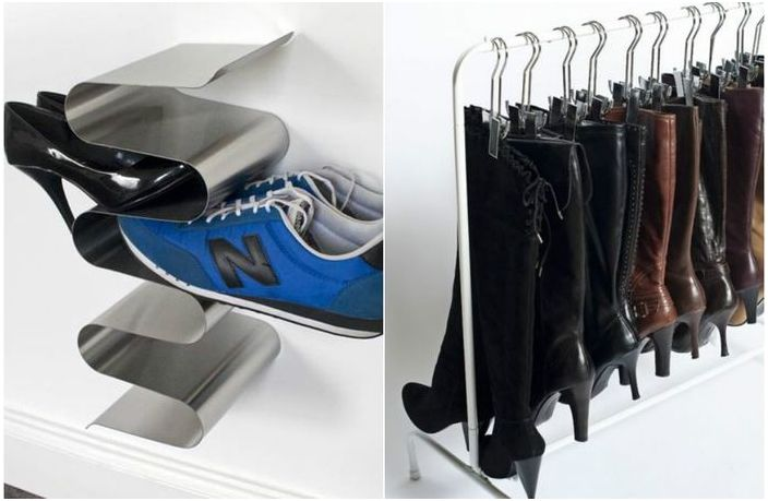 7 Practical Ideas For Shoe Storage