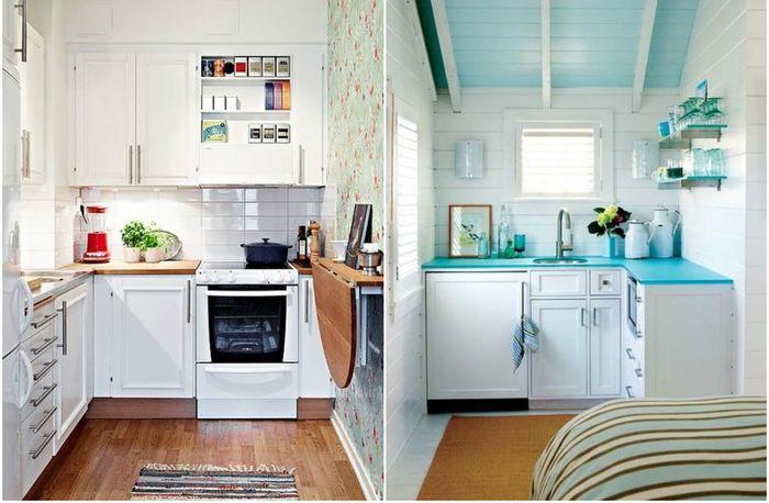 9 viehättävä ideoita sisätilojen pieni keittiö  dizainall com
