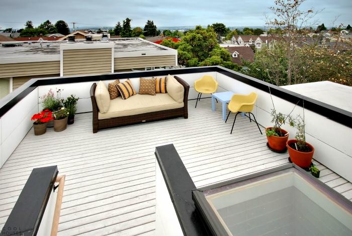 По-близо до небето: 17 зашеметяващи примери за оформление на терасата на покрива