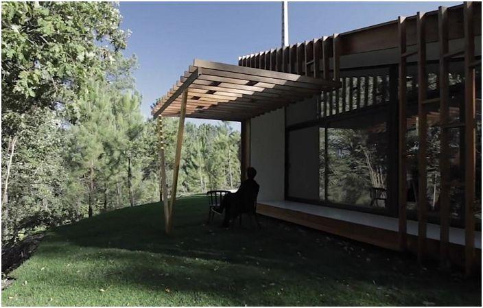 Бързо и лесно: една къща, която може да бъде построена за 3 дни