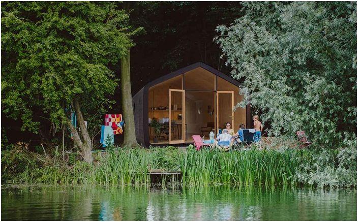 Какво можем да си построи къща: издръжлив корпус на конвенционален картон