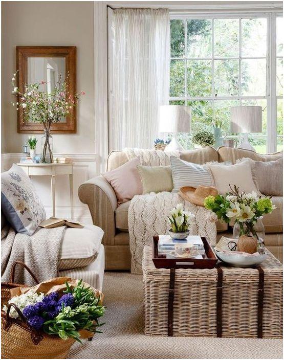 Декорите, които ще направят интериора уюта по всяко време на годината: 17 нагледни примери