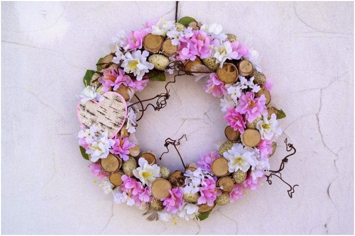 wreath of cut a tree