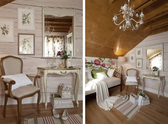 home interior in the style of Provence