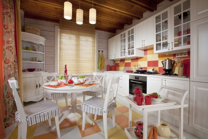 kitchen in the style of Provence