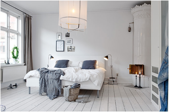 Design apartment in the Scandinavian style