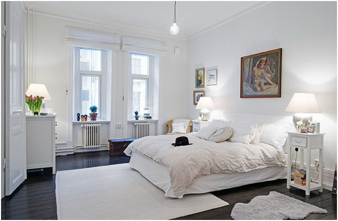 apartment design in the Scandinavian style