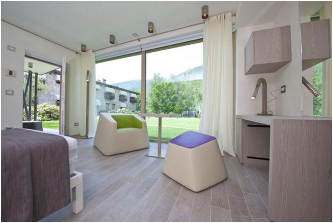 Проектиране на малка едноетажна къща на Ди Architettura Даниеле Menichini